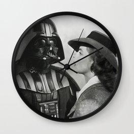 Darth Vader in Casablanca Wall Clock