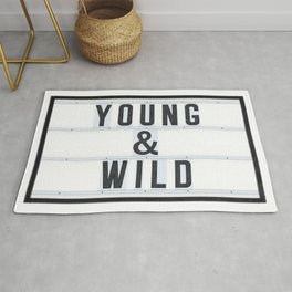 Young & Wild Rug