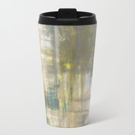 Abstract art, abstract painting, color block, bright colors, geometric print, modern painting Travel Mug