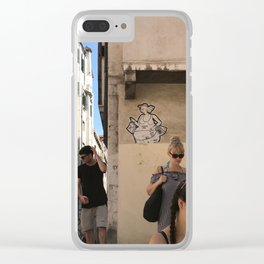 The Power of Tourism Clear iPhone Case