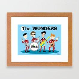 The Oneders  Framed Art Print
