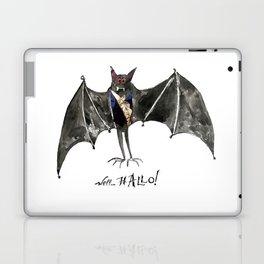 Halloween Welcome to the Ball Vampire Bat Greeting Card Laptop & iPad Skin