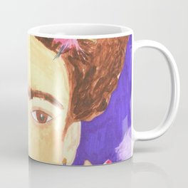 Frida's Kalho pop art portrait Coffee Mug