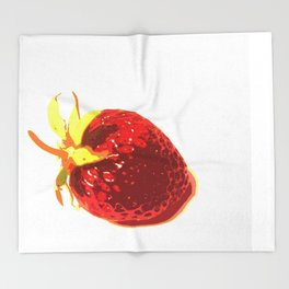Strawberry - Old Man of the Earth Throw Blanket