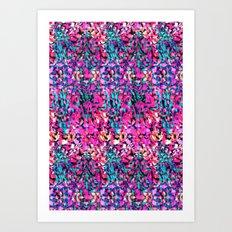 Splintered Geo Art Print