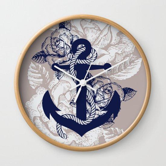 Anchor Art Wall Clock