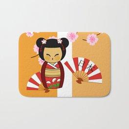 Kokeshi Ai  Bath Mat