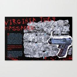 Virginia Tech Editorial Canvas Print