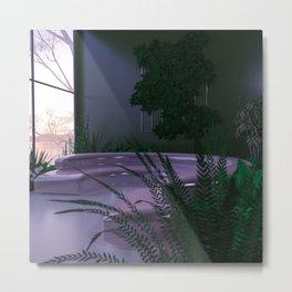 Leafy Interior Metal Print