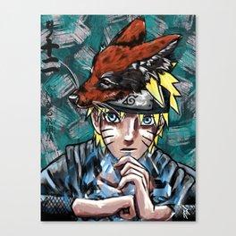Abstract Naruto Canvas Print