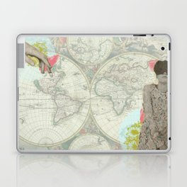 Feminine Collage I Laptop & iPad Skin