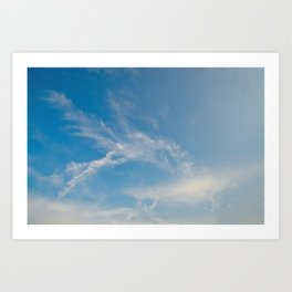 Hummingbird Cloud by Teresa Thompson Art Print