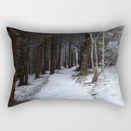 Winter on the AT Rectangular Pillow