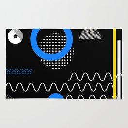 Contemporary geometric composition Rug