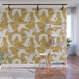 Soaring Wings - Goldenrod Yellow Wall Mural