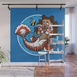 Sea Tigress Wall Mural