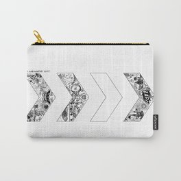 """""""OT5"""" Chevrons Carry-All Pouch"""