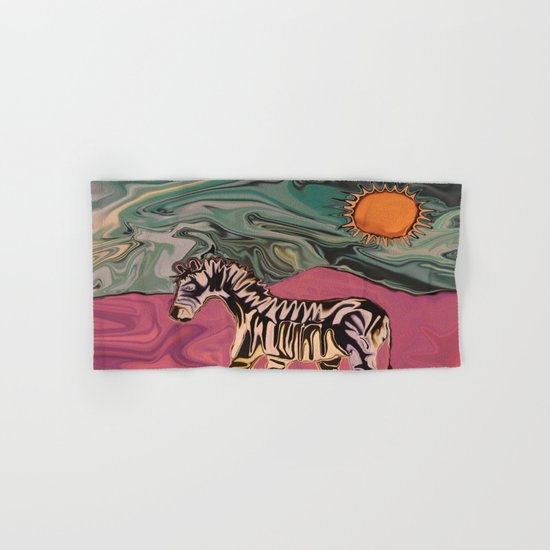 Zebra on Mars Hand & Bath Towel