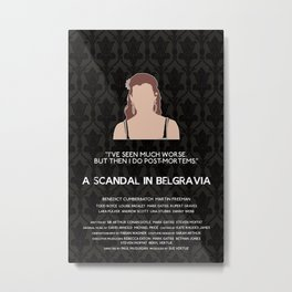 A Scandal in Belgravia - Molly Hooper Metal Print