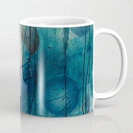 Blue spheres and tears II Coffee Mug