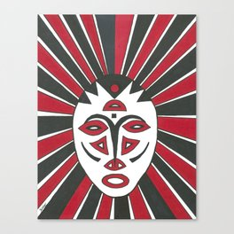 Faces of the Tribe Canvas Print