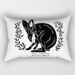 The Blind Jack Rabbit Rectangular Pillow