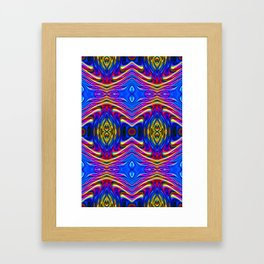 Mirrored 2 Framed Art Print