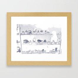 Mineral City II Framed Art Print