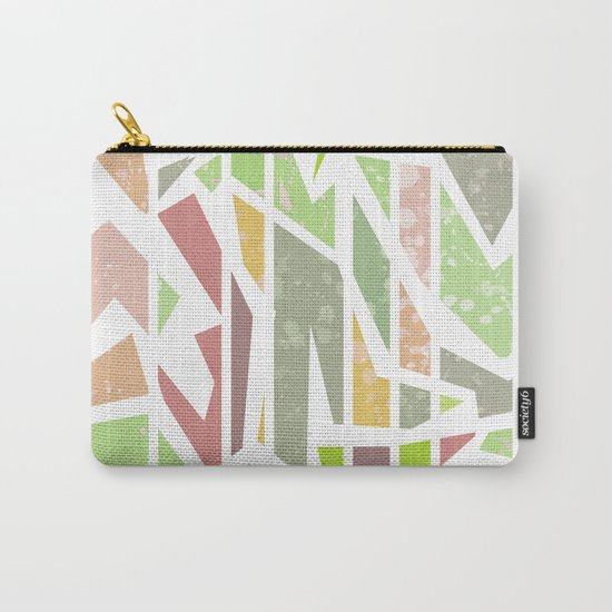 Abstract pattern . Geometric shapes . Carry-All Pouch