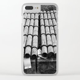 Bamboo Shelter Clear iPhone Case