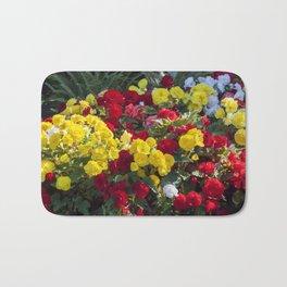 Begonias in Flower Bath Mat