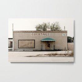 Al's Deadwood Place - Cocktail Lounge Metal Print
