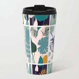 The Leaf Patern Travel Mug