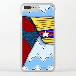 Super Love Clear iPhone Case