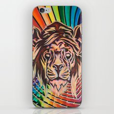 The Potent Lion iPhone & iPod Skin