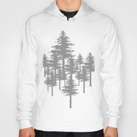 forrest Hoodies featuring Forrest by Dan Parker
