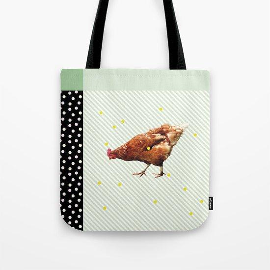 Une poule Tote Bag