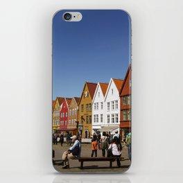 Bergen Bryggen iPhone Skin