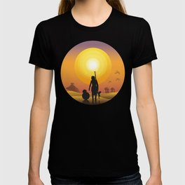 Walking in the desert T-shirt