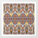 Abstract Tribal Pattern by perkinsdesigns