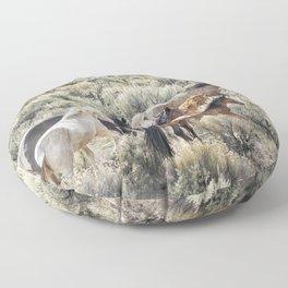 Retreating Floor Pillow