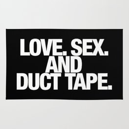Love. Sex. And Duct Tape. Rug