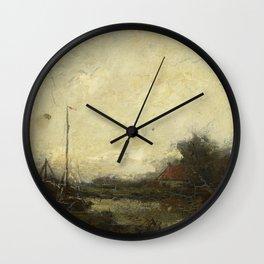 Frans Helfferich - Landschap Wall Clock