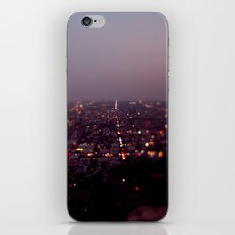 Angel City Lights, L.A. at Night (No. 2) iPhone Skin