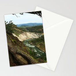 Yellowstone River View Stationery Cards
