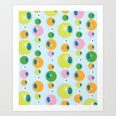 Stranded Ball Art Print