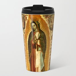 Our Lady Virgin of Guadalupe Virgin Mary Holy Blessed Maria Christmas Gift Religion Travel Mug