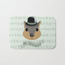 Mr. Squirrel Bath Mat