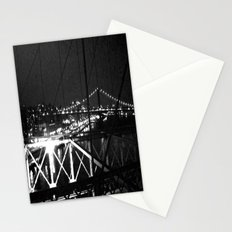 WHITEOUT : Standing 'Top the Bright Lit City Stationery Cards