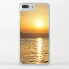summer feeling Clear iPhone Case
